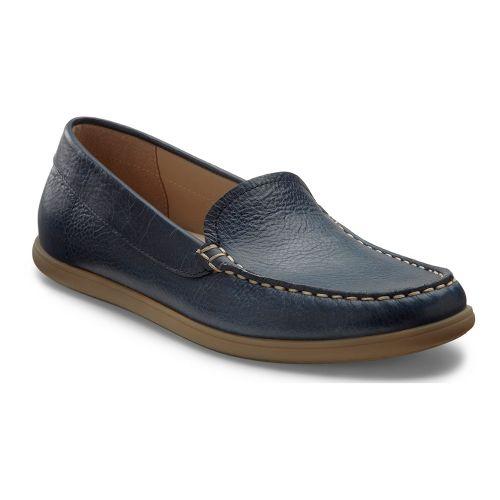 Womens Ecco USA Siena Moc Casual Shoe - Denim Blue 36