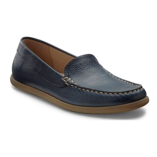 Womens Ecco USA Siena Moc Casual Shoe - Denim Blue 37
