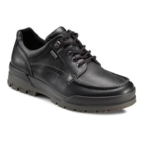 Mens Ecco USA Track 6 GTX Moc Toe Lo Casual Shoe - Black/Black 40