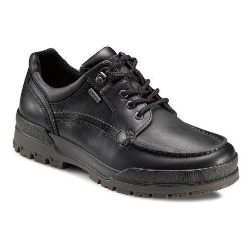 Mens Ecco USA Track 6 GTX Moc Toe Lo Casual Shoe - Black/Black 48