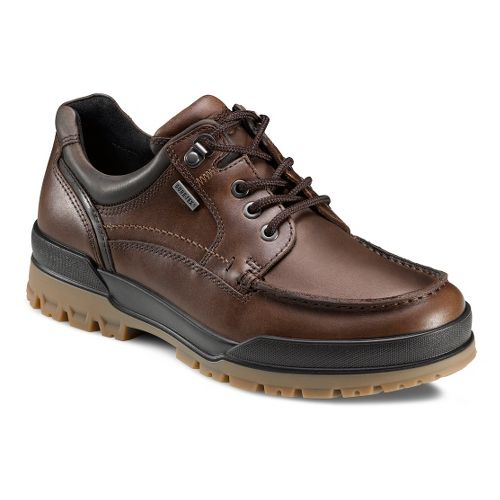 Mens Ecco USA Track 6 GTX Moc Toe Lo Casual Shoe - Bison/Cocoa Brown 40 ...