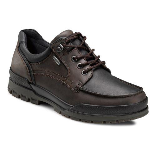 Mens Ecco USA Track 6 GTX Moc Toe Lo Casual Shoe - Coffee/Black 42