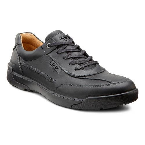 Mens Ecco USA Dason Casual Tie Casual Shoe - Black 40