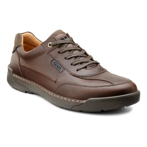 Mens Ecco USA Dason Casual Tie Casual Shoe - Mink 46