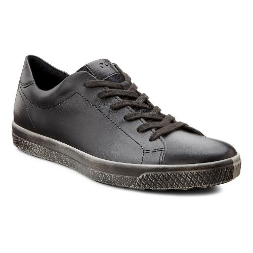 Mens Ecco USA Ethan Classic Sneaker Casual Shoe - Dark Clay 39
