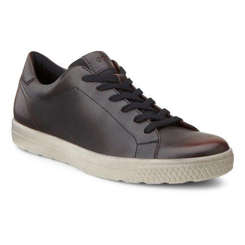 Mens Ecco USA Ethan Classic Sneaker Casual Shoe - Rust 45