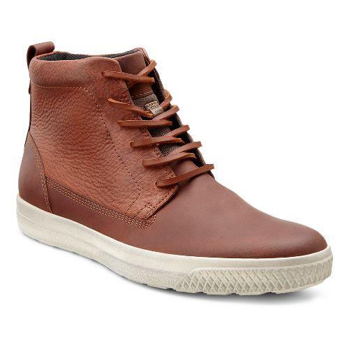 Mens Ecco USA Ethan Retro Boot Casual Shoe - Rust/Rust 39