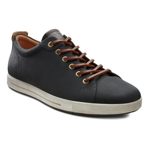 Mens Ecco USA Eisner Classic Sneaker Casual Shoe - Black 44