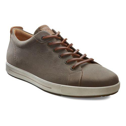 Mens Ecco USA Eisner Classic Sneaker Casual Shoe - Stone 39