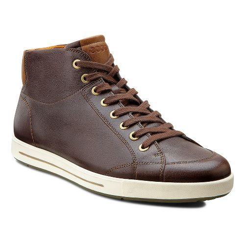 Mens Ecco USA Eisner Retro Boot Casual Shoe - Coffee 46