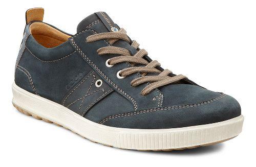 Mens Ecco Ennio Tie Casual Shoe - Black/Black 46