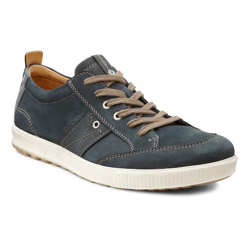 Mens Ecco USA Ennio Casual Tie Casual Shoe - Warm Grey/Stone 45