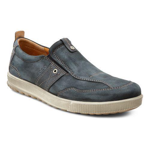 Mens Ecco USA Ennio Casual Slip On Casual Shoe - Black/Black 44