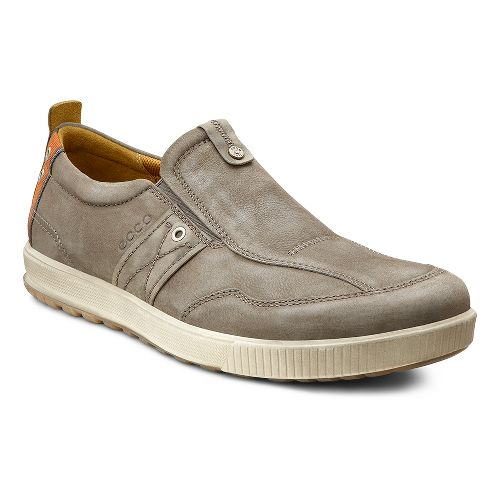 Mens Ecco USA Ennio Casual Slip On Casual Shoe - Warm Grey/Warm Grey 46