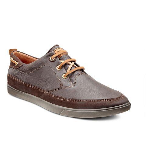 Mens Ecco USA Collin Nautical Sneaker Casual Shoe - Mocha/Coffee 43