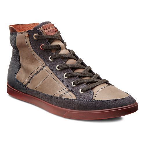 Mens Ecco USA Collin Retro Boot Casual Shoe - Moonless/Warm Grey 39