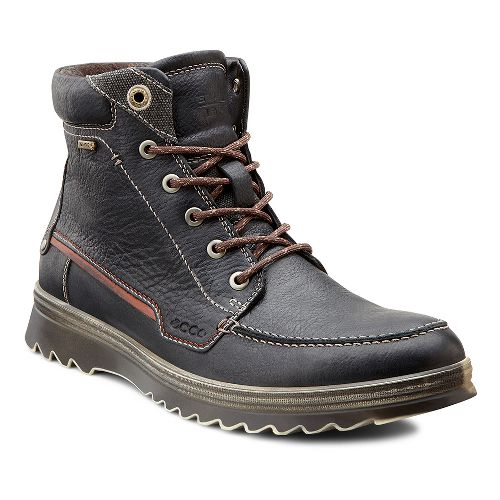 Mens Ecco USA Darren GTX Boot Casual Shoe - Black 42