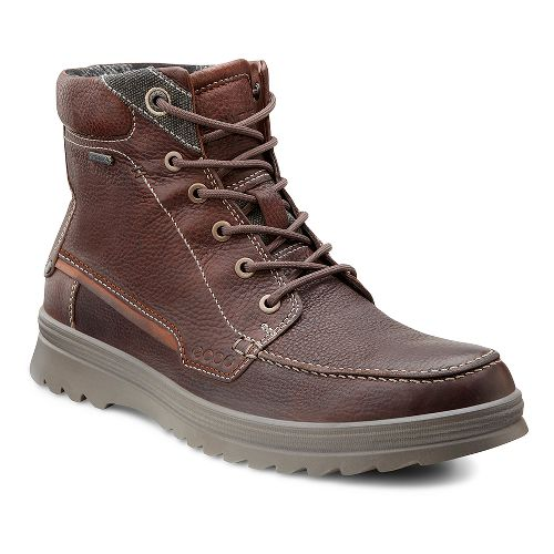 Mens Ecco USA Darren GTX Boot Casual Shoe - Rust 39