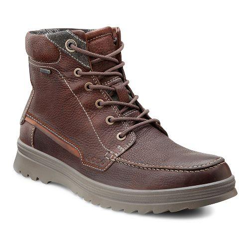 Mens Ecco USA Darren GTX Boot Casual Shoe - Rust 42