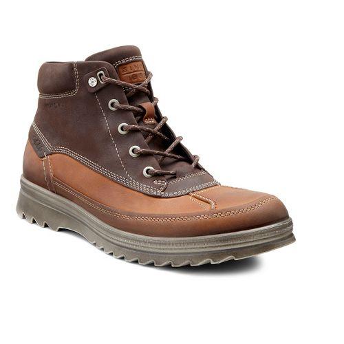 Mens Ecco USA Darren Hydromax Low Casual Shoe - Amber/Mocha 39