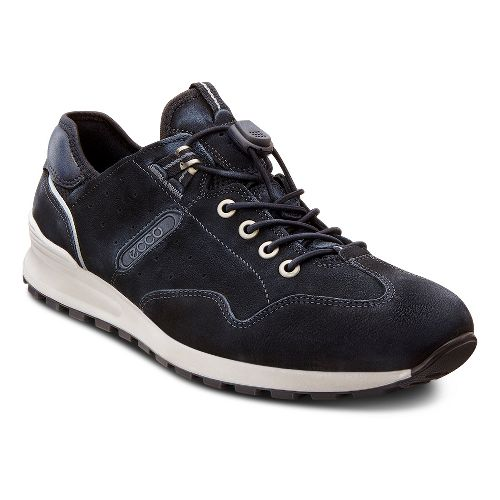Mens Ecco USA CS14 Speedlace Casual Shoe - Black/Black 43