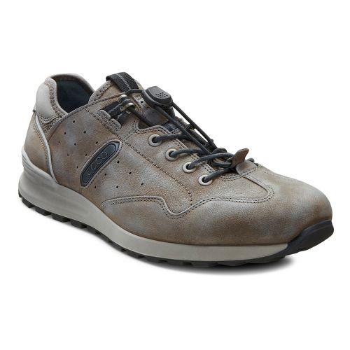 Mens Ecco USA CS14 Speedlace Casual Shoe - Dark Clay/Pavement 46