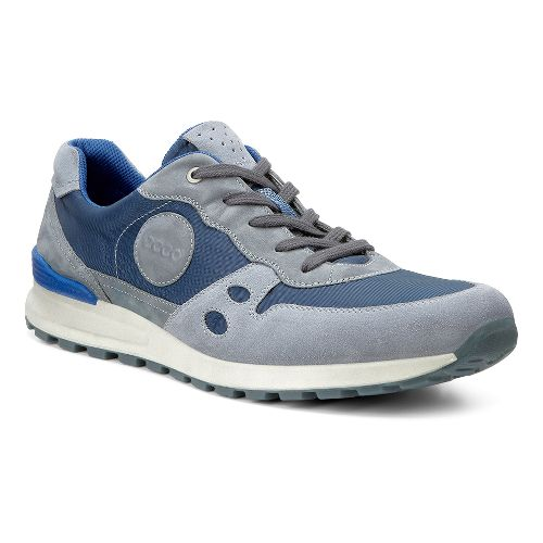 Mens Ecco CS14 Retro Sneaker Casual Shoe - Titanium/Moonless 44