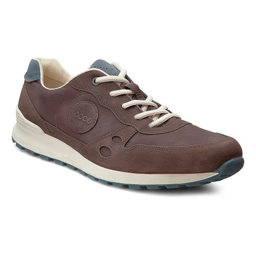 Mens Ecco USA CS14 Retro Sneaker Casual Shoe - Mocha/Coffee 42
