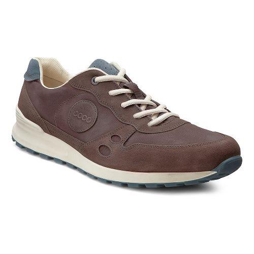 Mens Ecco USA CS14 Retro Sneaker Casual Shoe - Mocha/Coffee 45
