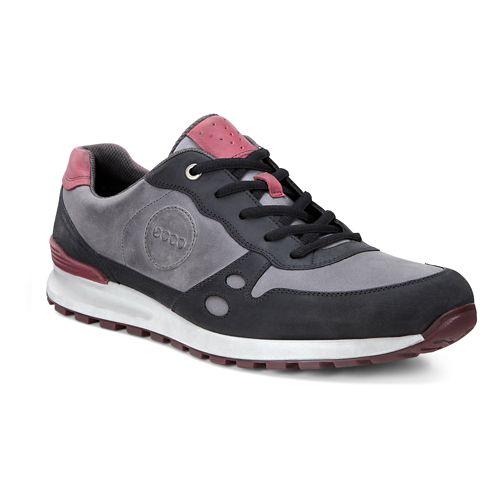 Mens Ecco CS14 Casual Sneaker Casual Shoe - Black/Moonless 44
