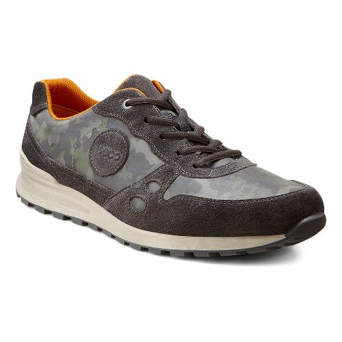 Mens Ecco USA CS14 Casual Sneaker Casual Shoe - Moonless/Wild Dove 42