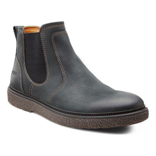 Mens Ecco USA Faxon Boot Casual Shoe - Black 40