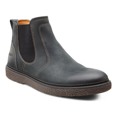 Mens Ecco USA Faxon Boot Casual Shoe - Black 41