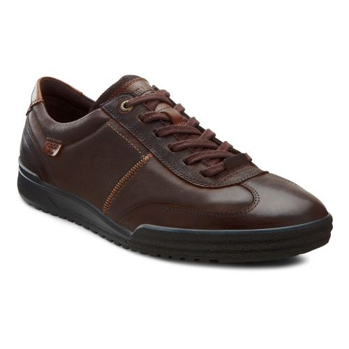 Mens Ecco USA Fraser Classic Tie Casual Shoe - Coffee/Espresso 39