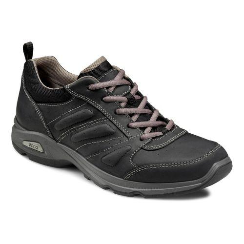 Mens Ecco USA Light III Plus Walking Shoe - Black/Black 42