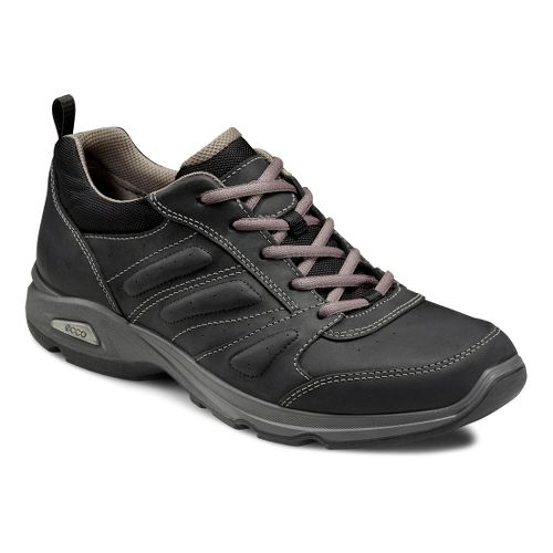 Mens Ecco USA Light III Plus Walking Shoe - Black/Black 43