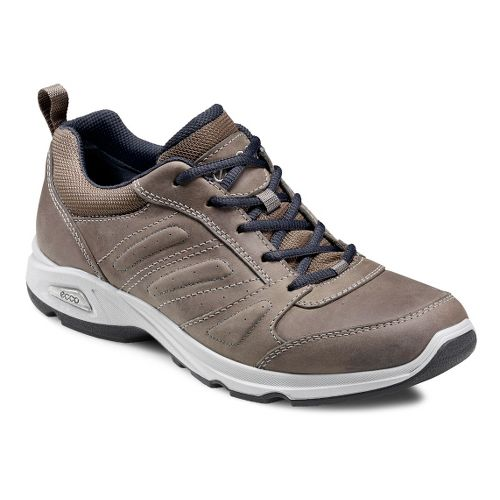 Mens Ecco USA Light III Plus Walking Shoe - Warm Grey/Warm Grey 43