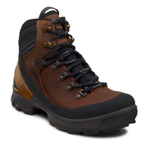 Mens Ecco USA Biom Hike GTX Hiking Shoe - Black/Camel 42
