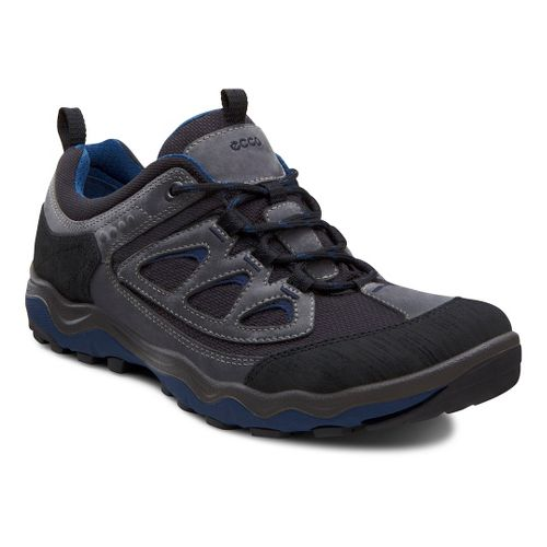 Mens Ecco USA Ulterra Lo Hiking Shoe - Black/Dark Shadow 40