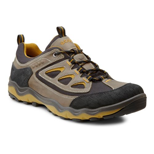Mens Ecco USA Ulterra Lo Hiking Shoe - Black/Warm Grey 46