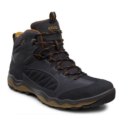 Mens Ecco USA Ulterra Mid GTX Hiking Shoe - Black/Black 41