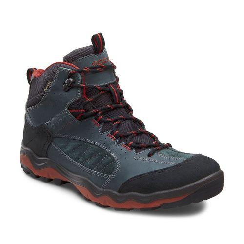 Mens Ecco USA Ulterra Mid GTX Hiking Shoe - Coffee/Espresso 42
