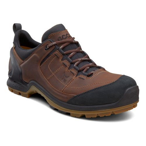 Mens Ecco USA Biom Terrain Lo GTX Hiking Shoe - Black/Camel 40