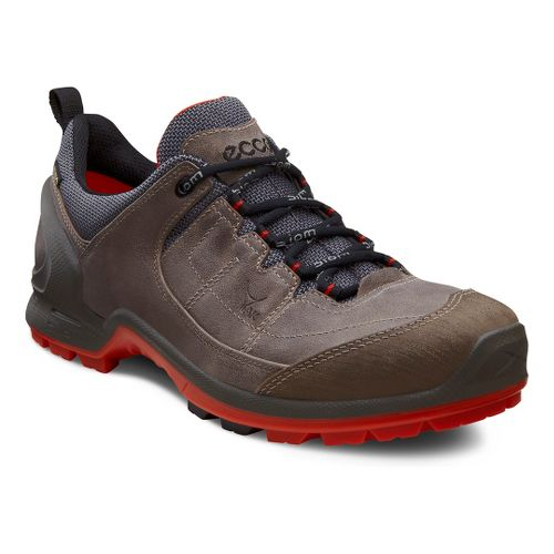 Mens Ecco USA Biom Terrain Lo GTX Hiking Shoe - Warm Grey/Moonrock 41