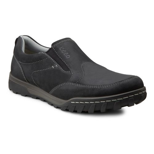 Mens Ecco USA Urban Slip On Casual Shoe - Black 46