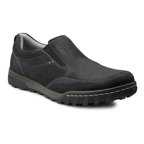 Mens Ecco USA Urban Slip On Casual Shoe - Black 48