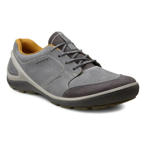 Mens Ecco USA Biom Grip Hydromax Casual Shoe - Moonless/Moonless 42