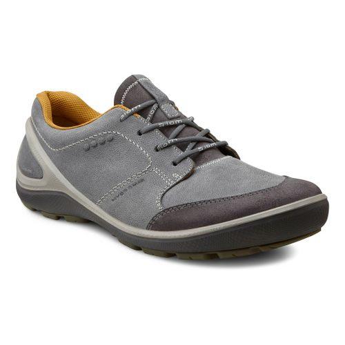 Mens Ecco USA Biom Grip Hydromax Casual Shoe - Moonless/Moonless 45