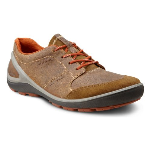 Mens Ecco USA Biom Grip Hydromax Casual Shoe - Sepia/Earth 46