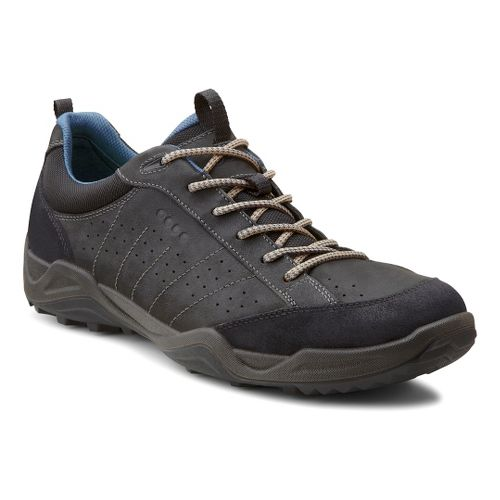 Mens Ecco USA Sierra II Casual Shoe - Black/Black 45